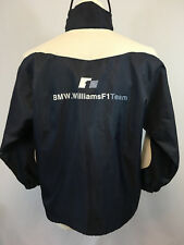 BMW Williams F1 Team Jacket Formula 1 Dark Blue Hooded Jacket Size M