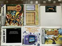 Golden Sun Nintendo Gameboy Advance GBA COMPLETE CIB