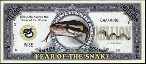 YEAR OF THE SNAKE 🐍🐍💶 Million Fantasy Note 💴🐍🐍 Buy More 💲 Save More