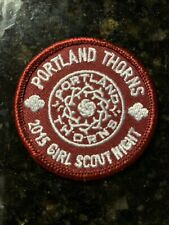 Portland Thorns 2015 Girl Scout Night Patch NWSL PTFC