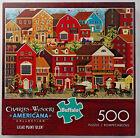 jigsaw puzzle 500 pc Lilac Point Glen Wysocki Americana Buffalo Games