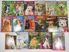 #60 lot of 16 books ANIMAL ARK Baglio puppy patrol place wishbone chapter 3-5 AR
