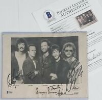 SAWYER BROWN SIGNED PHOTO BECKETT LOA BAS COA COUNTRY MUSIC BAND AUTOGRAPHED
