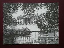 POSTCARD HAMPSHIRE BROADLANDS FROM THE RIVER TEST - PENCIL SKETCH