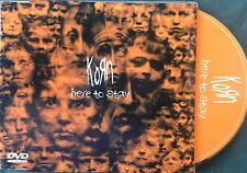 KORN / HERE TO STAY - CD single (+ 1 video and 4 clips)
