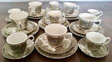 Rare Vintage 29 Piece Shakespeare Country Traditional English Ironstone Tea Set