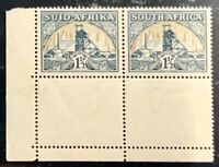 South Africa #SG57c MNH CV£22.00 1936 Gold Mine [Flag on Chimney][Mi79-Mi80 51]