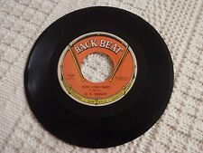 O.V. WRIGHT  HOW LONG BABY/GONE FOR GOOD  BACK BEAT 558