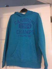 CARBRINI BOYS BLUE  HOODIE SWEATER  10-11 Years