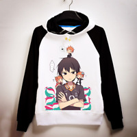 Anime Haikyuu Karasuno Hoodie Hinata Syouyou Pullover Sweatshirt Cosplay Sweater