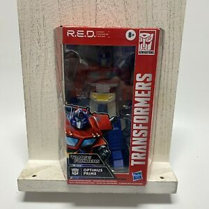 """G1 Optimus Prime 6"""" Figure R.E.D. RED Transformers Series Walmart Excl.  In Hand"""