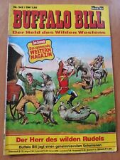 BUFFALO BILL 542  BASTEI VERLAG 1979