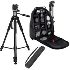 "72"" Full Size Tripod + BP SLR Backpack for Nikon D5100 D5200 D610 D90"