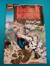 MARVEL THE PUNISHER Wolverine African Saga