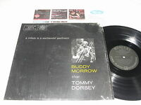 "Buddy Morrow ""Tribute-Tommy Dorsey"" 1957 Jazz LP, VG, Orig Mercury-Black Labels"