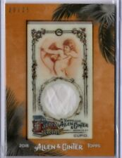 2018 Topps Allen & Ginter CUPID Framed Mini Fabled Relics Card /25 #MFAR-C Relic