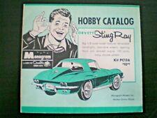 Monogram  Original Mini Hobby kit Catalog sheet from 1965