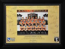 AFL Collingwood Magpies 1990 Premiers Team Poster Signed - Framed