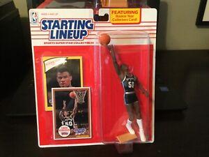 NBA Starting Lineup 1990 Edition San Antonio Spurs David Robinson Rookie SLU NBA