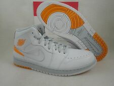Nike Air Jordan 1 Retro 86, White / Kumquat, 644490 115, Size 11.5