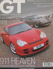 GT Purely Porsche magazine 12/2001 featuring 911 Targa,Techart, 996,930,959, RUF