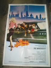 THE WANDERERS ORIGINAL FOLDED 27X41 UNUSED MOVIE POSTER KEN WAHL 1979
