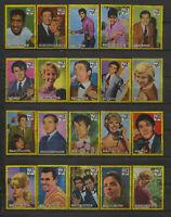 Complete Set of 40 Vlinder Movie Music Star Vintage 1960s Matchbox Label A Serie