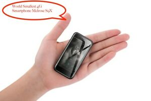 """World Smallest 4G LTE Smartphone Melrose S9X 2.45"""" Android Ultra Slim Mini Phone"""