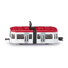 Siku 1011 Tramway Blanc/Rouge (Boursouflure) Modèle Réduit de Voiture Nouveau !