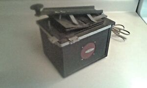Vintage 4 x 5 Albert Specialty Co. Lighted Contact Printer