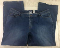 Liz & Co. Women's  Blue Jeans Plus Size 20W