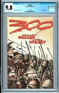 300 Issue 4 Comic - CGC 9.8 Comic NM/ Mint - Frank  Miller Movie