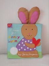 I Love You Honey Bunny - Soft Cloth Books for Children, Baby, Boys, Girls, Child