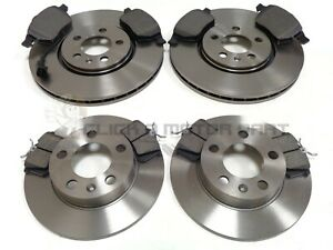 SEAT LEON 1.8 CUPRA 1999-2005 FRONT & REAR BRAKE DISCS AND PADS CHECK SIZE 288mm