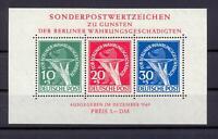 Berlin Block 1 Währungsgeschädigte postfrisch (bs92)