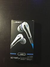 SMS 50CENT STREET EARBUDS NIB UNOPENED (WHITE)