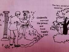 Cinderella, pink, 1/2 yard, pure cotton fabric