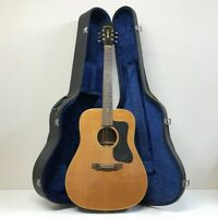 NASHVILLE N50D 1974 Takamine Acoustic Guitar with Hard Case F/S Rare