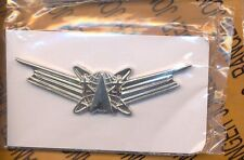 USAF SPACE OPERATIONS Badge wing clutchback award Stabrite Vanguard