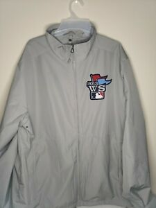 Men's Majestic Boston Red Sox 2013 World Series On-Field Cool Base Jacket LARGE