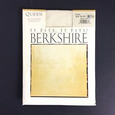 Berkshire Queen All Day Sheer Pantyhose 3X-4X Ivory Sandalfoot