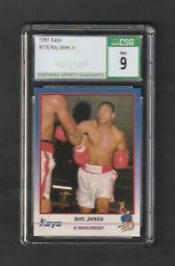 1991 Kayo ROY JONES Jr RC #116 ~ Graded CSG 9 MINT
