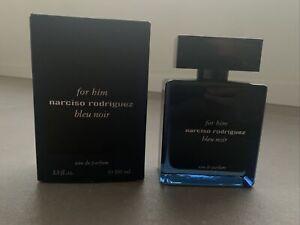 narciso rodriguez bleu noir for him 100ml EDP Eau de Parfum Spray NEU