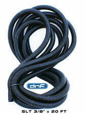 "20 FT 3/8"" Split Wire Loom Conduit Polyethylene Tubing Car Audio Products 20 FT"