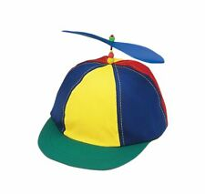 Propeller Cotton Ball Cap Multi Color Child Beanie Hat Clown Copter Helicopter