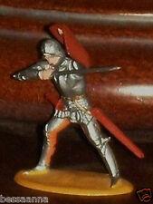 Merten Norman Knights Late Elastolin Plastic 4 cm Figure Germany Z6-1 T22625022