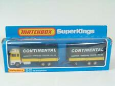 Matchbox-Major-King-Size #K21 - Ford Transcontinental -Yellow/White - A+/B