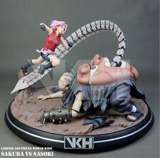 Naruto Hokage Ninjia Haruno Sakura VS Sasori Combat Scene VKN-Figures statue-NEW