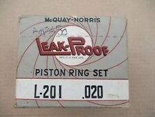 Piston Rings 1932 – 1946 Ford, Garwood, Marmon-Herrington, Truckstell, Warford