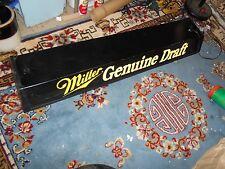 Vintage- Miller Genuine Draft - Ceiling mount Fluorescent Light Fixture -WORKS